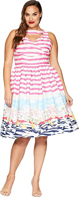 Plus Size Shelly Swing Dress