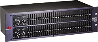 dbx iEQ31 Intelligent Dual 31-Band Graphic Equalizer with AFS