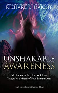 Unshakable Awareness: Meditation in the Heart of Chaos, Taught by a Master of Four Samurai Arts (Total Embodiment Method TEM) (English Edition)