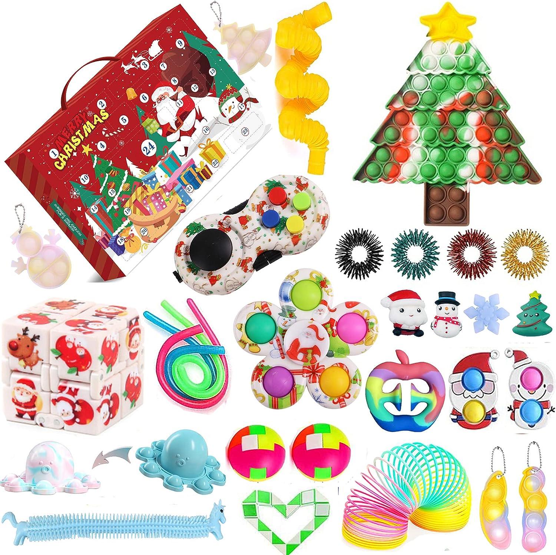 Domingbub Fidgets Advent 35% OFF Calendars Financial sales sale 2021 Kid Toy Fidget for