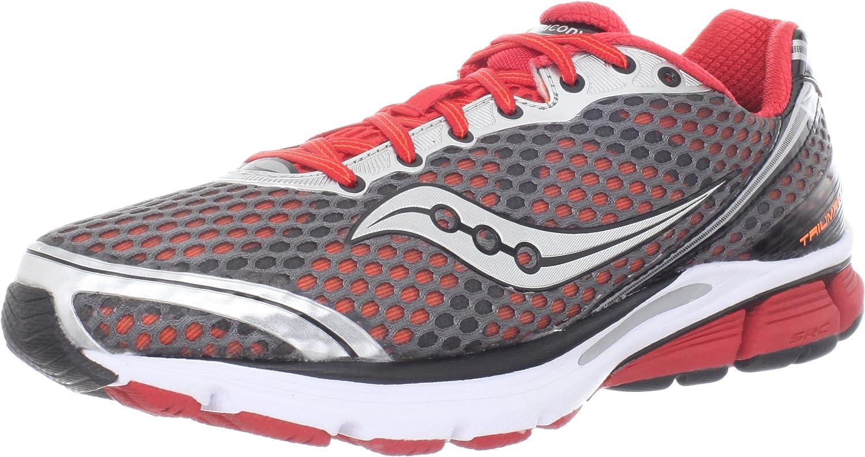 Saucony Herren Triumph 10 Running Schuhe,Grau Rot Vizipro,11.5 Vizipro,11.5 M US  Spiel bis zu 70%
