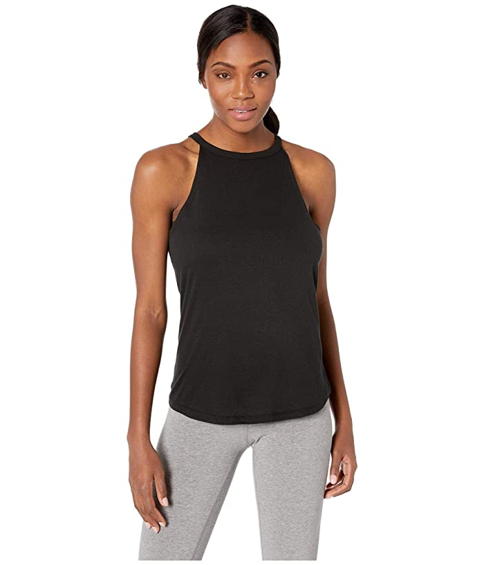 Lorna Jane Lounge Gym Tank Top (Black) Women
