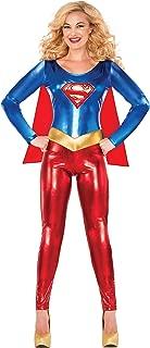 Rubie's Women's Dc Comics Deluxe Supergirl Catsuit Costume