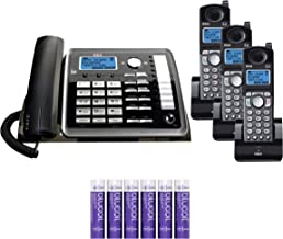 $178 » RCA 25255RE2 (25055RE1, 25254) 2-Line Phone System with Answering System - Corded Speakerphone and Wireless Handset Bundle...