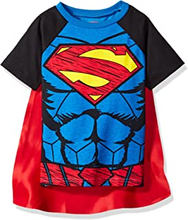Warner Bros. Superman & Batman Toddler Boys' Cape T-Shirt Set