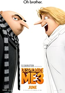 Despicable Me 3Movie Poster Limited Print Photo Steve Carell, Kristen Wiig, Trey Parker Size 11x17 #1