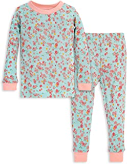 Baby Pajamas, Tee and Pant 2-Piece PJ Set, 100% Organic Cotton