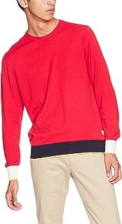 [ディッキーズ] リブ配色クルーネックL/Sセーター 131M30WD04 メンズ