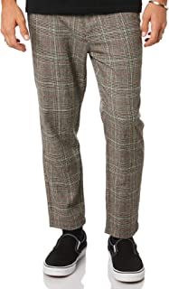 Thrills Men's Liberated Chopped Mens Chino Cotton Fitted Elastane Brown