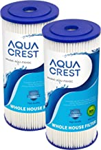 """AQUACREST FXHSC 10"""" x 4.5"""" Whole House Water Filter, Replacement for GE FXHSC, Culligan R50-BBSA, Pentek R50-BB and DuPont WFHDC3001, American Plumber W50PEHD, GXWH40L, Pack of 2 (Packing May Vary)"""