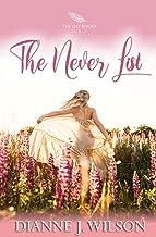 The Never List: Contemporary Christian women's fiction - feelgood, faith-filled & fun (The List Books, Book 2)