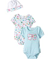 Kate Spade New York Kids - Bodysuits and Cap Set (Infant)