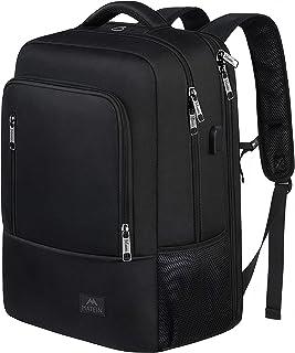 Business Laptop Backpack, Large Slim 17 inch Laptop Backpack with USB Port, Lightweight Water Resistant TSA Travel Bag Com...