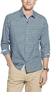 Geoffrey Beene Mens Slim Fit Long Sleeve Button Down Print Shirt Long Sleeve Button Down Shirt