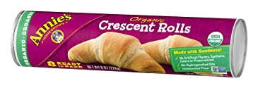 Annie's Organic Crescent Rolls, Ready to Bake Rolls, 8 Count