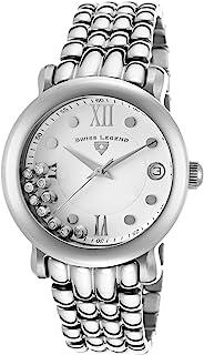 Swiss Legend Women's 22388-22 Diamanti Analog Display Swiss Quartz Silver Watch