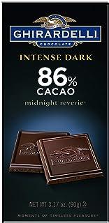 Ghirardelli Chocolate Intense Dark Bar, Midnight Reverie, 3.17 oz.