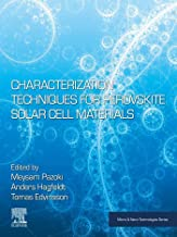 Characterization Techniques for Perovskite Solar Cell Materials (Micro and Nano Technologies) (English Edition)