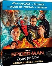 SPIDER-MAN: LEJOS DE CASA (BD 3D + BD + BD EXTRAS + GALLERY BOOK) (ED ESPECIAL METAL) [Blu-ray]