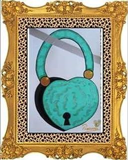 Museo Pikassa Marbella. Simbolo Gioiello Lucchetto Tiffany cuore amore