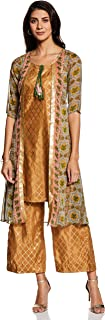 Aurelia Women's Chiffon A-Line Salwar Suit Set