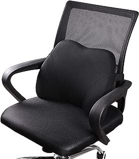 Dreamer Car Mini Supportive Chair Cushion Lumbar Pillow Design for Lower Back Pain..