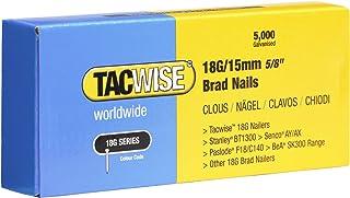 Tacwise 0394 stiftnagels 18G/15mm verzinkt (5.000 stuks), 15 mm