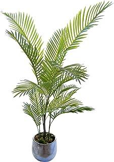 Palmier Artificiel, idéal pour la décoration de la Maison ou du Bureau, Plante Artificielle (120 cm)