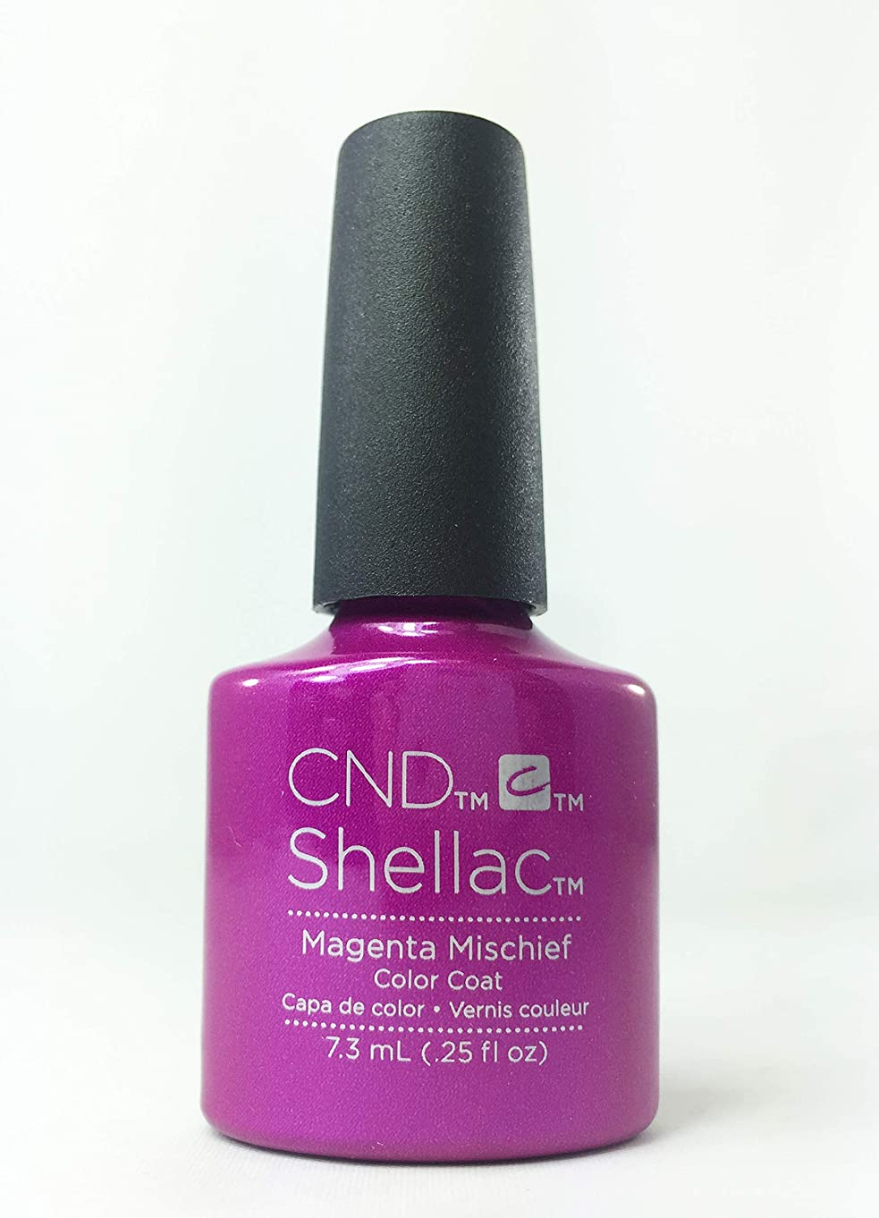 編集する誘導コンテンツCND Shellac Polish - Magenta Mischief .25oz / 7.3mL
