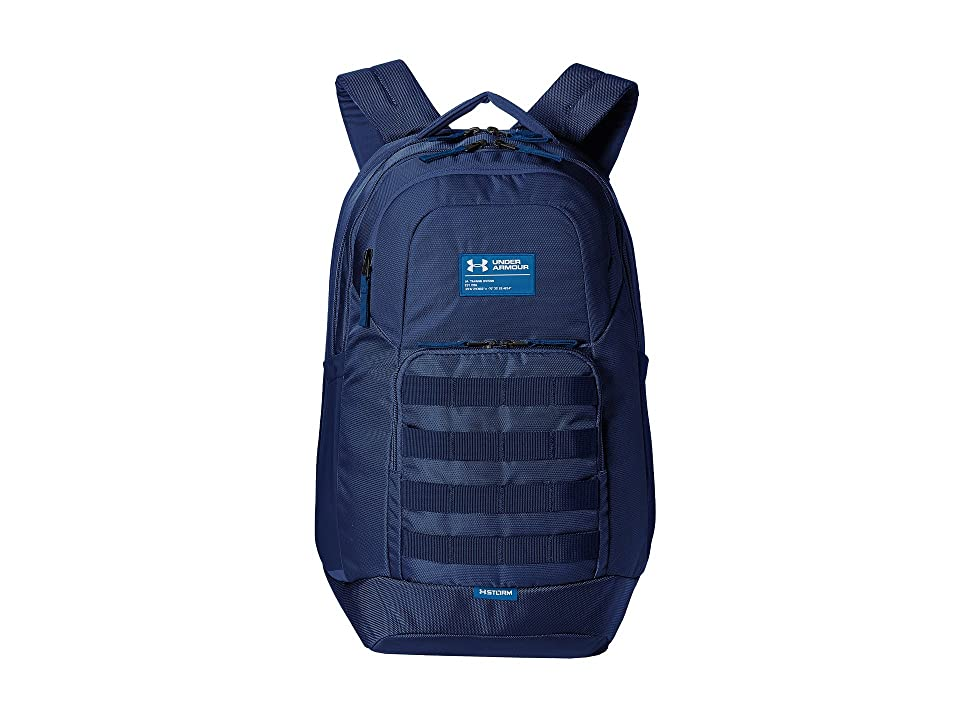 Under Armour UA Guardian (Academy/Academy/Moroccan Blue) Backpack Bags
