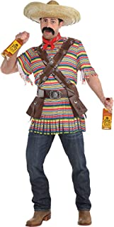 Suit Yourself Tequila Bandito Halloween Costume for Men, Standard Size, Includes Accessories