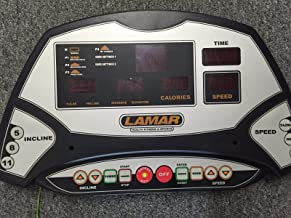 Lamar Upper Display Electronic Console Works Hiker Treadmill