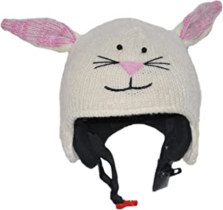PINK YAK Ski Helmet Cover Rabbit/Bunny