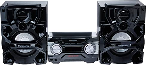 Mini System, Panasonic, SC-AKX700LBK, Preto