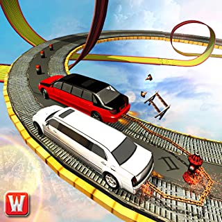 Chained Limo Car Impossible Racing Stunt Driver 3D