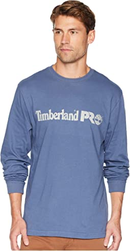 Cotton Core Long Sleeve T-Shirt w/ Logo