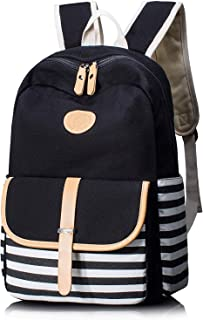 XHHWZB Stylish Style Multipurpose School Travel Backpack for Men Women Vintage Fabric Backpack School Bag Campus Backpack