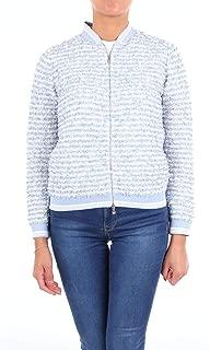 D.EXTERIOR Luxury Fashion Womens 48556SKYBLUE Light Blue Jacket   Season Outlet