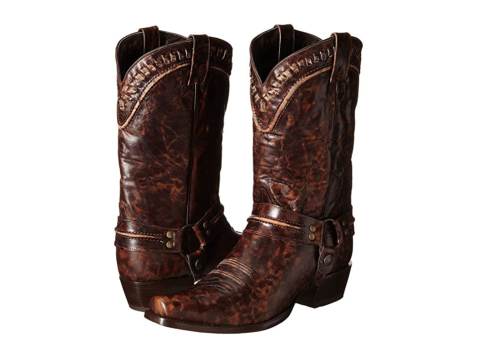 Stetson Outlaw Buckstitch (Marbled Brown) Men