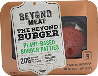 Beyond Meat Plant-based Burger Patties, 8 oz (8 Pack, 16 Patties Total)