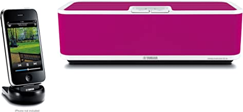 Yamaha PDX-60PI Speaker Dock for iPod and iPhone, 1 Each (Pink)