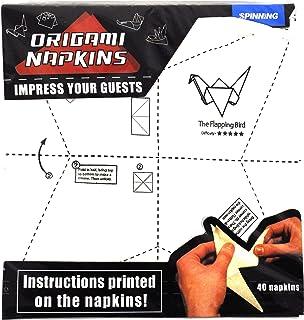 Spinning Hat Origami Napkins