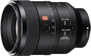 Sony SEL100F28GM 100mm f2.8 Medium-telephoto Fixed Prime Camera Lens, Black