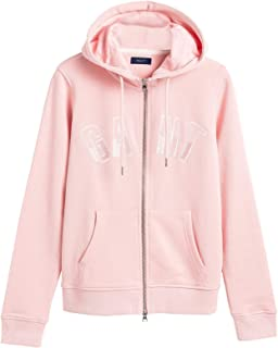 Gant Women's N.H. Zip Hoodie Regular Fit