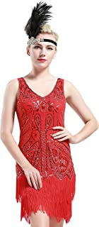 Best red dress 1920s Reviews