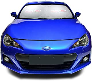 FORTEM Car Windshield Sunshade, Keeps Out UV Rays, Protects Vehicle Interior (Small)