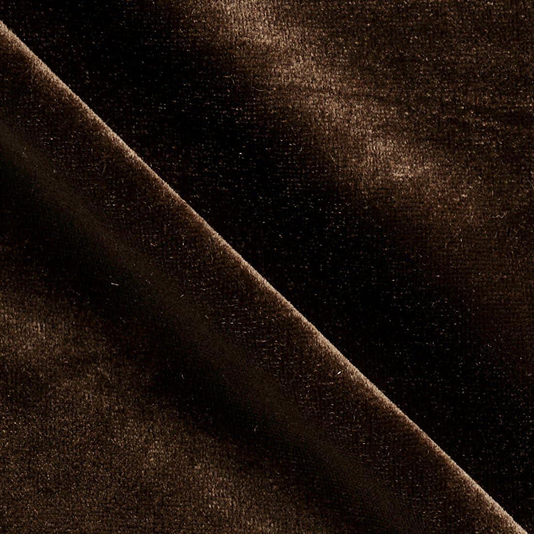 Richlin Kansas City Popular popular Mall Fabrics Stretch Brown Velvet