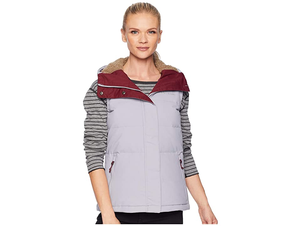 Columbia Winter Challengertm Hooded Vest (Astral/Rich Wine) Women