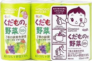 健康! 只需与蔬菜 125ml×18罐