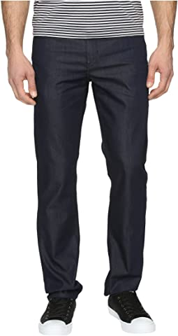 Perry Ellis Slim Fit Dark Indigo Denim in Medium Indigo